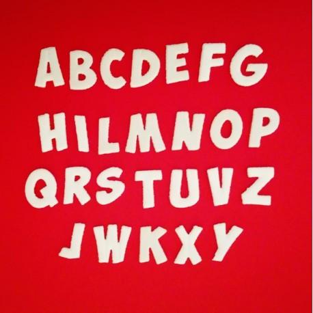 "Alfabeto ""Simple"" - Fustellato"