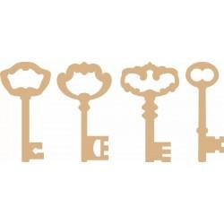 Chiavi MDF - Set 4 chiavi