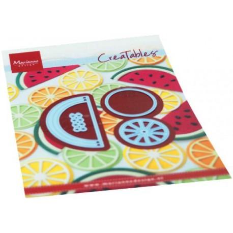 Fustella Frutta - Marianne Design Creatables FRUIT LR0668