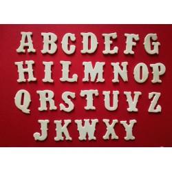 """Alfabeto """"Vintage"""" - Fustellato"""