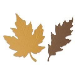 Fustella Foglie Autunnali - Sizzix Bigz Die - Autumnal Leaves 664590