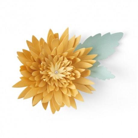 Fustella Crisantemo - Sizzix Bigz Die - Chrysanthemum 664594