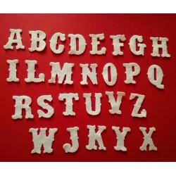 """Alfabeto """"Vintage"""" - Fustellato Pannolenci"""