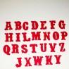 """Alfabeto """"Vintage"""" - Fustellato Feltro"""