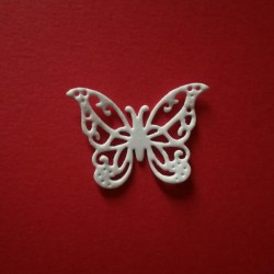 Farfalla Fustellata in gomma crepla (Tipo 1)