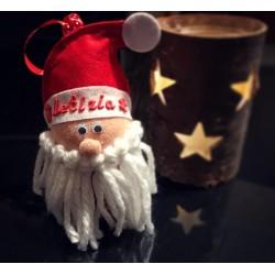 """""""Babbo Natale"""" Pallina di Natale Personalizzata con nome"""