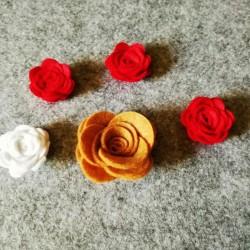 Rosa - Fustellato Pannolenci