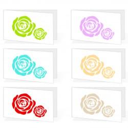 Bigliettini Matrimonio Personalizzati - Rose