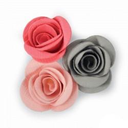 Rosa 3D Fustella Sizzix Thinlits Die - Flower Scallop 661788