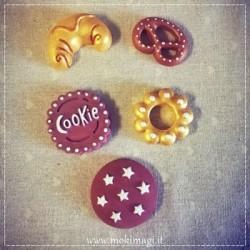 Calamite Biscotti e Dolcetti - Set 5 pezzi