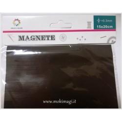 Foglio Magnetico 15x20cm A5 - Foglio Calamitato