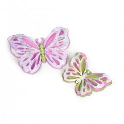 Fustella Farfalle Sizzix Thinlits Die Set 6PK - Delicate Butterflies 662393