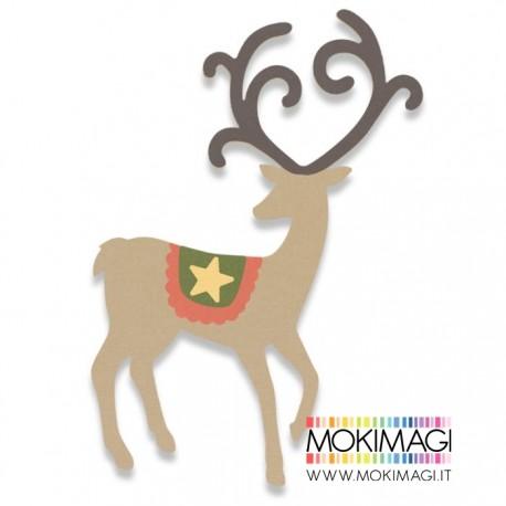 Renna Sizzix Bigz Die - Graceful Reindeer 662867