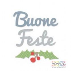 Buone Feste + Agrifoglio Sizzix Bigz Die - Buone Feste Stafil 662327