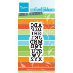Fustella Alfabeto Marianne Design Craftables CR1417 Fustella Lettere