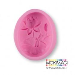 Stampo Uovo per Gessetti, Polvere di Ceramica, Sapone, ecc... 9x7,8x3x2cm Stampo uovo silicone