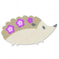 Fustella Riccio Sizzix Bigz Die - Hedgehog 2 - 663584