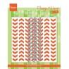 Fustella + Embossing Marianne Design Design Folders TIRE TRACKS - EXTRA DF3407