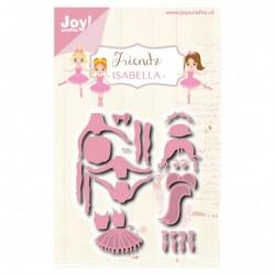 Fustella Ballerine Joy!Crafts friendz Isabella - 6002/1089 Fustella Danza