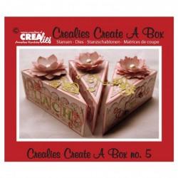 Fustella Metallica Scatolina Fetta di Torta - Crealies Piece of Cake CCAB05
