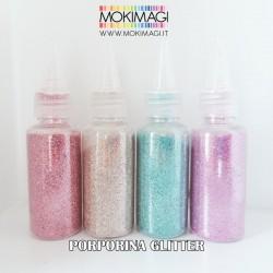 Porporina Glitter a Grana Fine - Flacone 30grammi