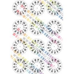 Disco Orario Da Stampare PDF - Disco Orario per Creazioni