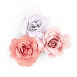 Fustella Rosa Graziosa in 3D - Sizzix Bigz Die - Grace 663848