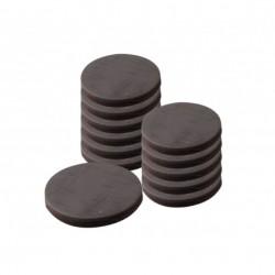 Magneti Tondi 10 pezzi 1,8x0.4cm Calamite Tonde