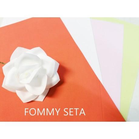 FOMMY SETA - Gomma Crepla Setata Delicatissima - Foglio 25x35cm