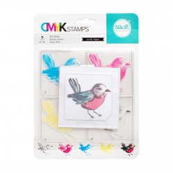 Timbro Uccellino We R Memory Keepers • CMYK Stamp kit Bird 660543