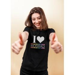 T-Shirt I LOVE MOKIMAGI - Maglietta Unisex