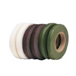 Guttaperga Verde per Fiori - Rotolo 27metri x 13mm Nastro Adesivo Verde per Fiorista