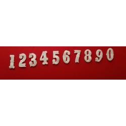 "Numeri ""Vintage"" - Fustellati Pannolenci"