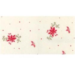 Pannolenci Poinsettia Tramato Natale - 30x40cm 1mm