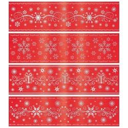 Shrink per Sfere - Pellicola Termoretraibile Natale Rosso
