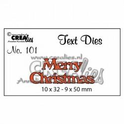 "Fustella ""Merry Christmas"" - Crealies - Fustella CLTD101"