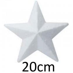 Stella di Polistirolo - Stella Angolare 20cm