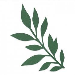Fustella Ramoscello Sizzix Bigz Die - Gathered Leaves 664502 Foglie Raccolte