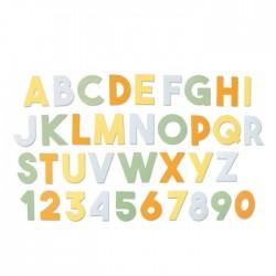 Fustella Alfabeto Sizzix • Bigz XL die Chunky Alphabet 664385