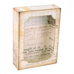 Fustella Scatola Sizzix • Bigz XL die With Framelits Curio box 664419