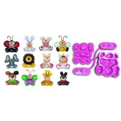 Stampo Animali per Gomma Crepla - Stampo Multiuso con Varie Forme