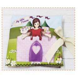 Pannello Principessa -  Idee per Creare - Kit Libro Soft