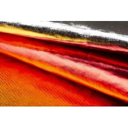 Pannolenci Metallic Oro e Rosso - Foglio 50x70cm