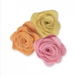 Fustella Rosa 3D Sizzix • Bigz die 3D Rose 2 665094