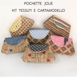 KIT POCHETTE Modello JOLIE - Tessy - Kit con Tessuto e Cartamodello