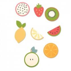 Fustella Frutta Sizzix • Bigz die Fruit shapes 663855