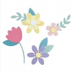 Fustella Fiori Primaverili Sizzix • Bigz die Spring flowers 665101