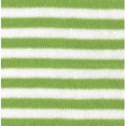 Tubolare Righe Verde Chiaro e Bianco - 30cm x 8cm