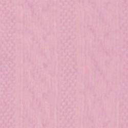 Tubolare Treccia Rosa - 30cm x 8cm