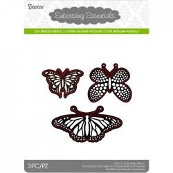 Fustella Metallica Farfalle Darice • Die Cut Butterflies - Set di 3 Farfalle